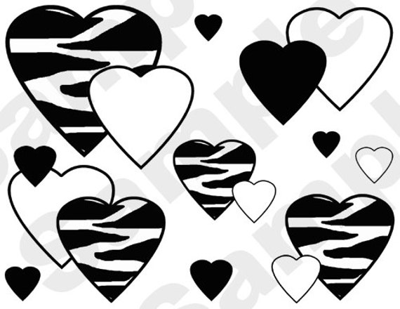 Popular items for zebra wall sticker on Etsy