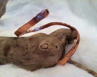 Hand Hammered Copper Arm Bracelet
