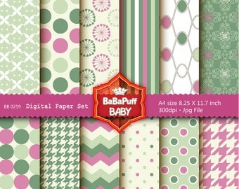 Buy 2 Get 2 Free ---- Digital Papers ---- Personal and Small Commercial Use ---- BB 0259