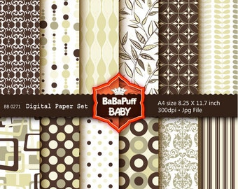 Buy 2 Get 2 Free ---- Digital Papers ---- Personal and Small Commercial Use ---- BB 0271