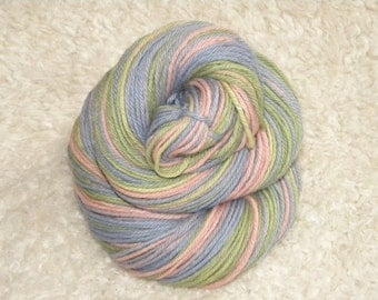 Hand Dyed yarn, DK Weight, 70 Alpaca/ 30 Merino, 100g/ 220 yards- 'Baby'