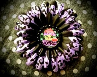 Zombie Cupcake hair flower