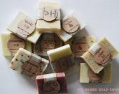 Choose any 5 sample size handmade soap.