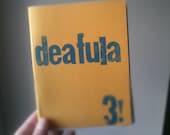 Deafula zine issue 3