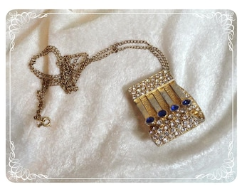 Vintage Look and  See Unusual Brooch/ Pendant  1313ag--041110000