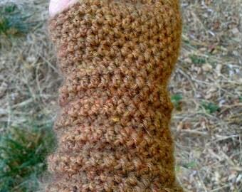 Super Soft Alpaca Wristwarmer Fingerless Gloves