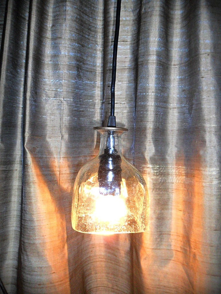 Patron Tequila Hanging Glass Pendant Lamp
