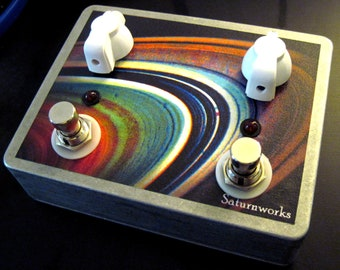 Saturnworks Passive A/B Mixer Line Selector Guitar Pedal With Volume Controls