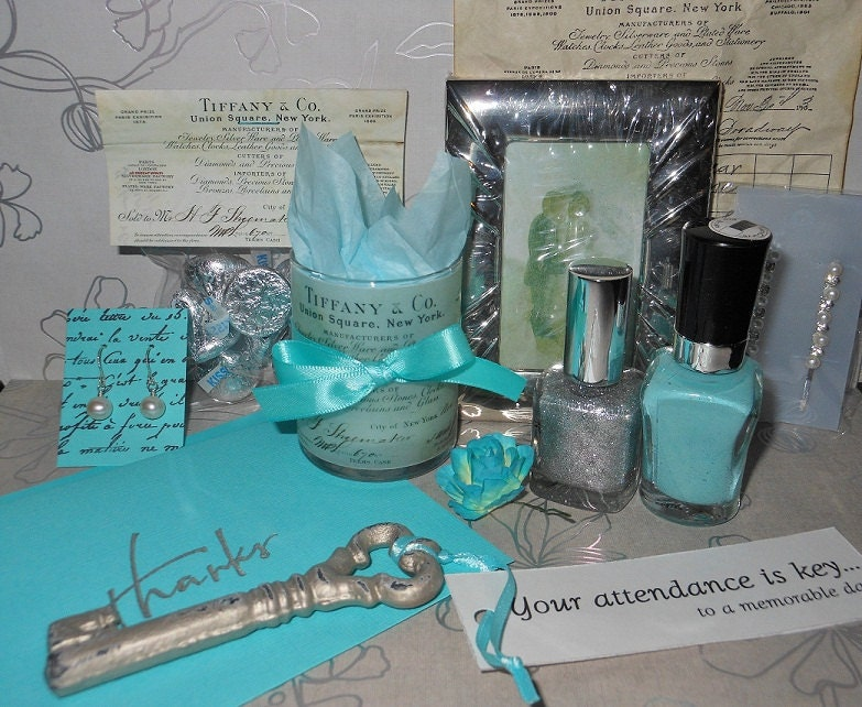 Sets left tiffany co inspired piece gift set with