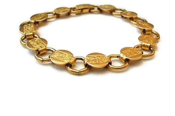 Bracelet Sarah Coventry Gold  Pattern
