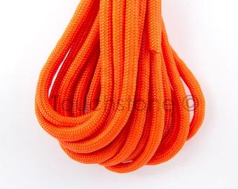 550 Parachute Cord Paracord Para Cord Neon Orange 16ft #099-1024