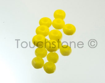 10/0 Czech Seed Beads Yellow 20 Grams #222-144017