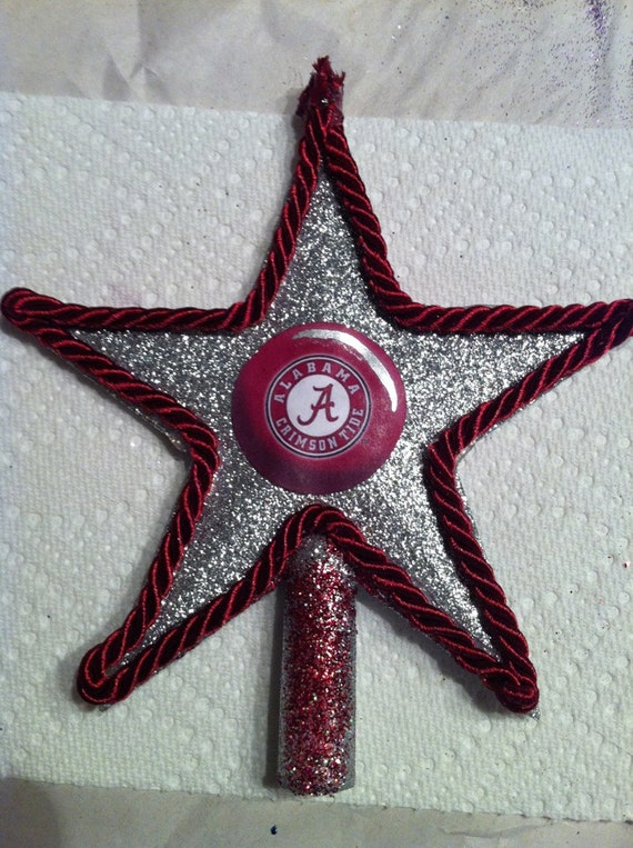 Items similar to alabama crimson tide christmas tree for Christmas tree items list
