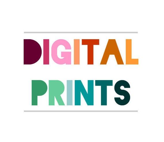 Digital Print Order