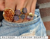 Arcoiris - .925 SILVER Rainbow Titanium Ring