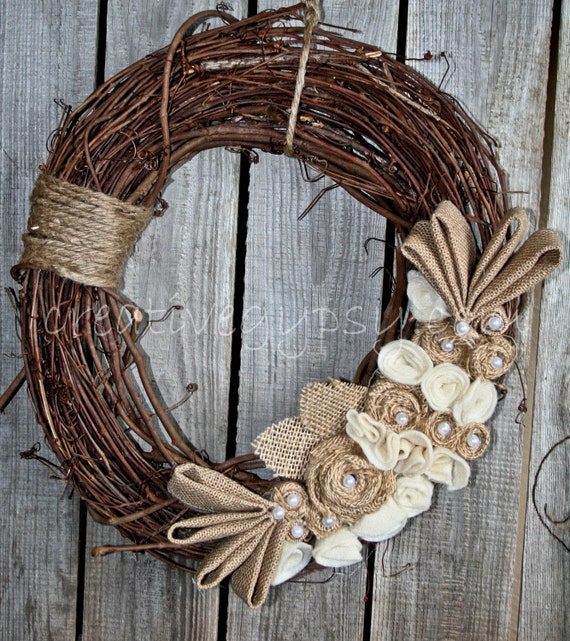 Rustic Rancher Wreath Right Side