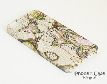 World Map iPhone case iPhone SE case iPhone 6S case iPhone 6 case iPhone 6S Plus case iPhone 6 Plus case iPhone 5S case iPhone 4S case