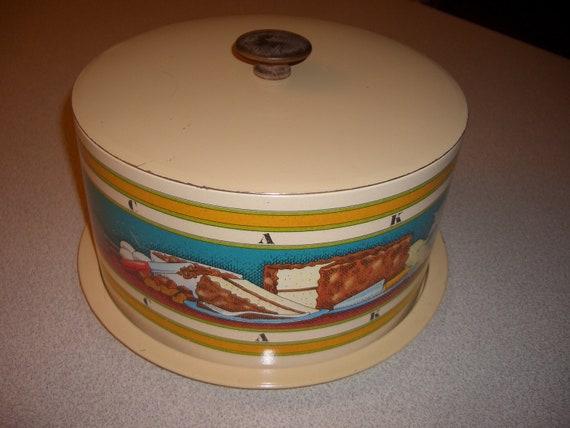 Vintage Cake Cover Storage Traveler