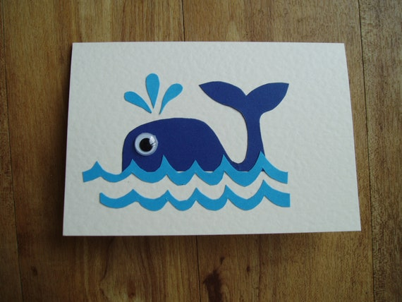 Whale card for any occasion