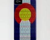 Colorado Flag iPhone Case / Boho Print