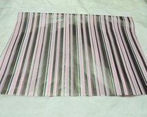 20 Premium Quality Pink and  Brown Stripped Print  Tissue Paper, Large Gift Paper, Packaging Paper 20x30