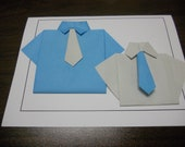 Origami Shirts Card