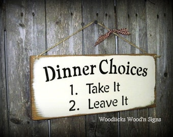 Popular items for wooden kitchen sign on Etsy