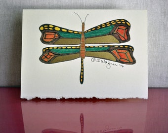 Dragon Fly Card - Michael's Dragon Fly set of 8