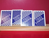 Wooden Playing Card Holder (Set of 5)