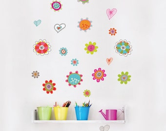 Spring - kid wall decal