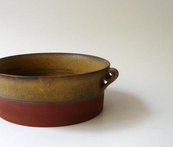 Rustic Soup Bowl / Cereal Bowl / Salad Bowl in Variegated Brown
