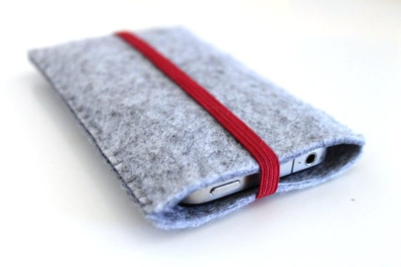 iPhone 5, iPhone 4/ 4S Sleeve  with elastic band