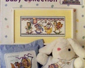 Come & Play Baby Collection Cross Stitch Patterns Book Leisure Arts