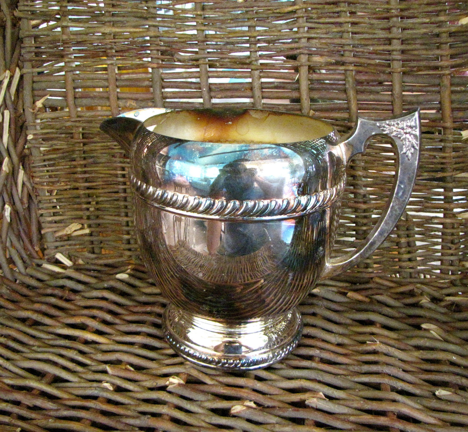Water Pitcher- Vintage Silverplate- - 746.2KB