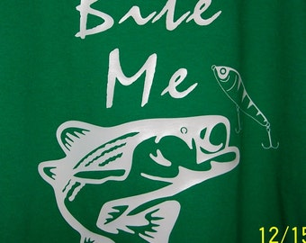 Bite Me Bass Long Sleeve Tshirt