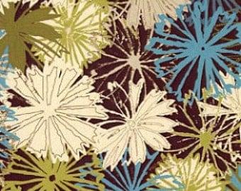 Paintbrush Studio fabric - Packed FlLOWERS