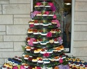 10 Tier CupCake Stand, CupCake Tower Fully Adjustable NEW