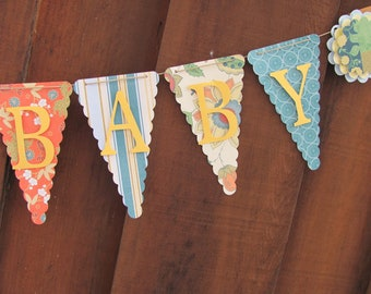 Welcome Baby Banner, Baby Shower Banner, Baby Shower Decorations, Baby Shower Supplies