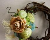 Shell Wreath Embellishment