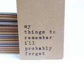 Mother's Day Gift - Funny Hand screen printed MOLESKINE® journal. Quirky notebook; Typographic; Minimalistic; Vintage; Mum gift; for mum
