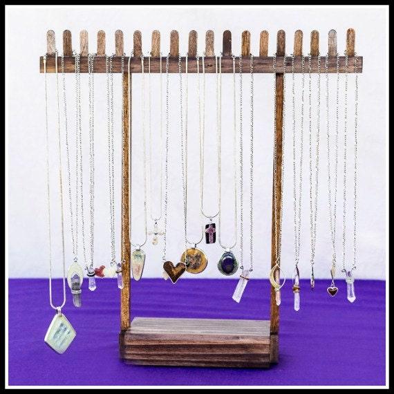 woodwork necklaces