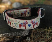 "The Dala 1.5"" Dog Collar READY TO SHIP"