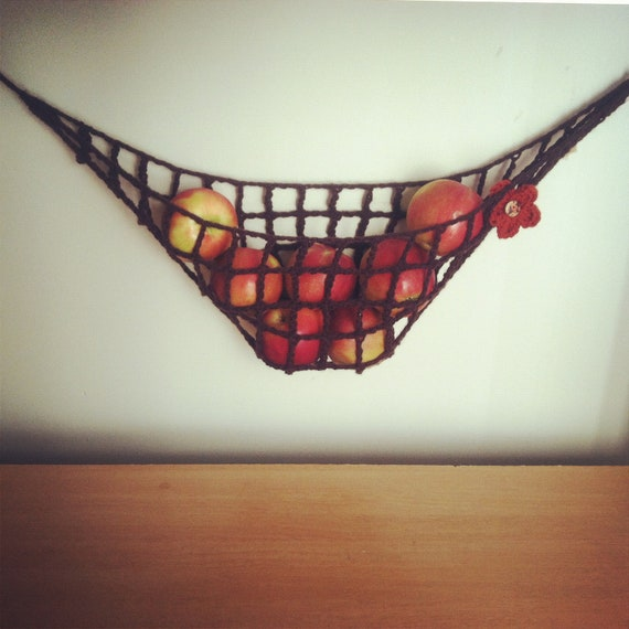 Items Similar To Crochet Fruit And Vegetable Hammock