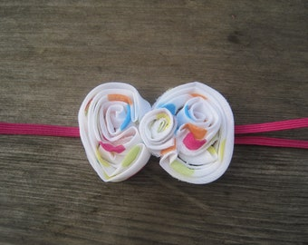 Party Polka Dot Bow Headband, Baby Headbands, Baby Girl Headbands, Infant Headbands, Baby Bow, Infant Bow, Girl Headbands