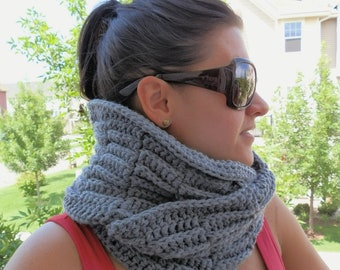 PATTERN ONLY - The Beth Wrap Cowl