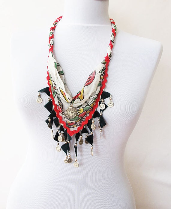 Collar Necklace-TURKISH yemeni- everyday  bohemian jewelry
