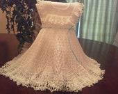 twirly white dress