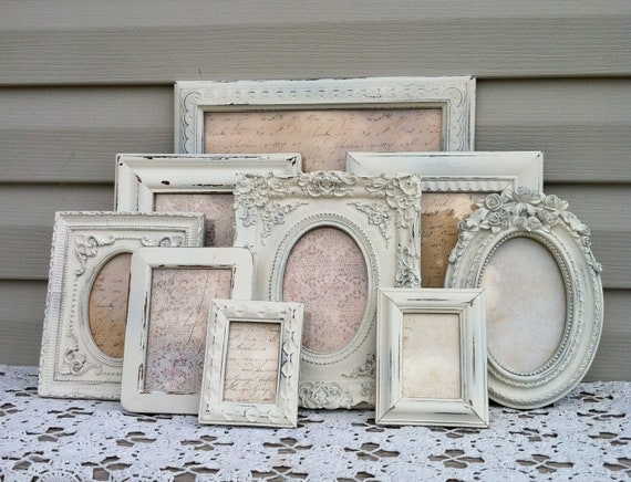 White French Country Picture Frame Collection Baroque Shabby