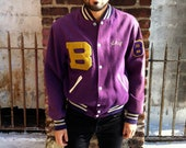 Purple Varsity Jacket