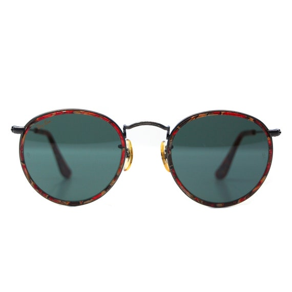 Reserved for Yasmin Vintage Ray Ban Bausch and Lomb Tortoise Metal Round Sunglasses.